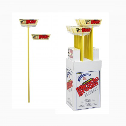 Miracle broom, refills & display