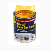 Fits-all™ paint can spout